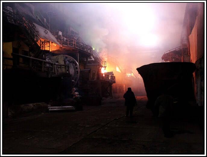 Burning Copper Plant