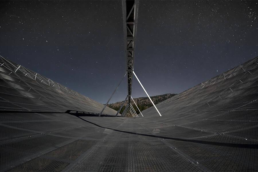 Chime Collaboration Radio Telescope