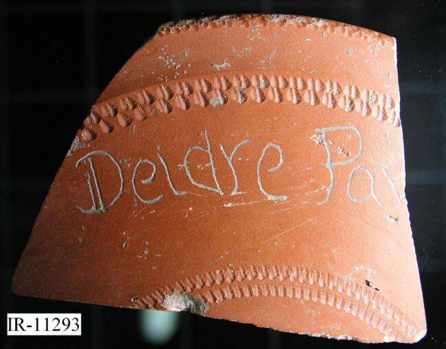 Deidre Pax Pottery Fragment