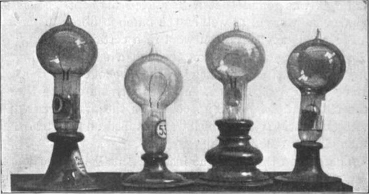 Edison's First Light Bulbs