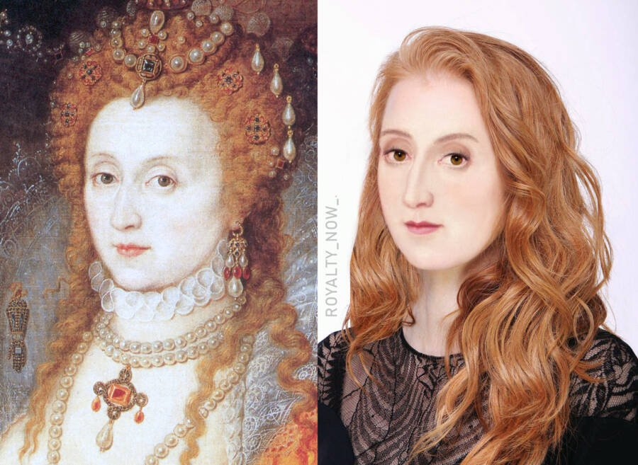 What Elizabeth I Would Look Like Today
