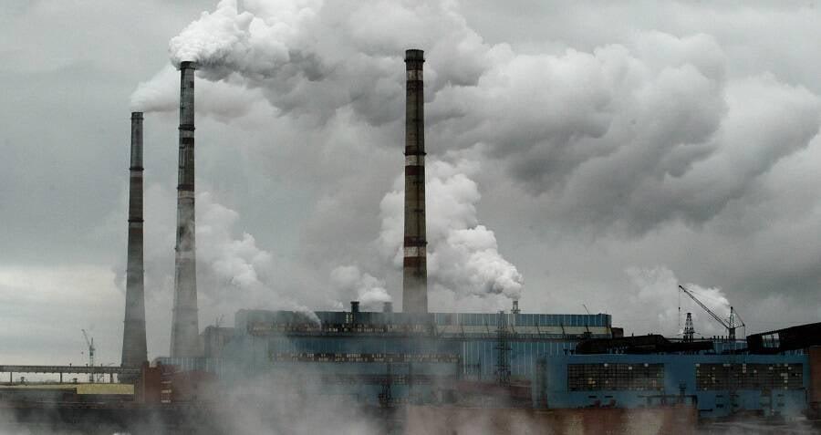 Factories Norilsk Russia OG