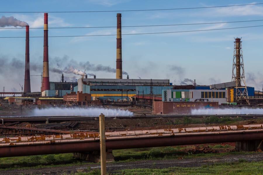 Factories Norilsk