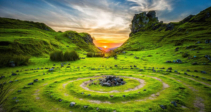 Explore The Fairy Glen, The Scottish Valley So Magical That Legend Says Fairies Created It