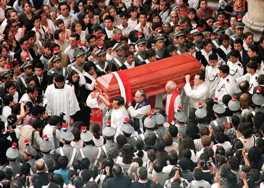 Bishop Juan Gerardi's Funeral