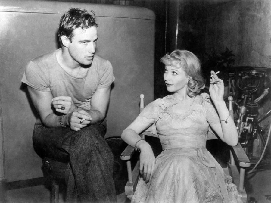 Marlon Brando And Vivien Leigh