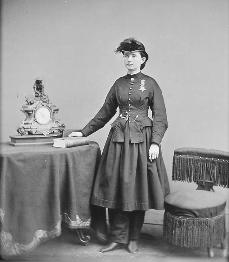 Mary Edwards Walker Brady Photo