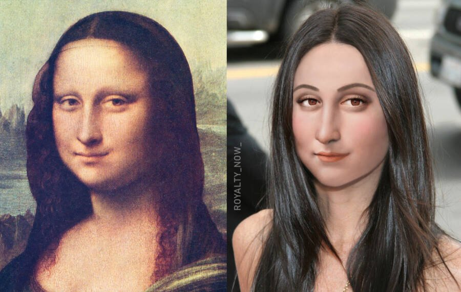 What The Mona Lisa Would Look Like Today