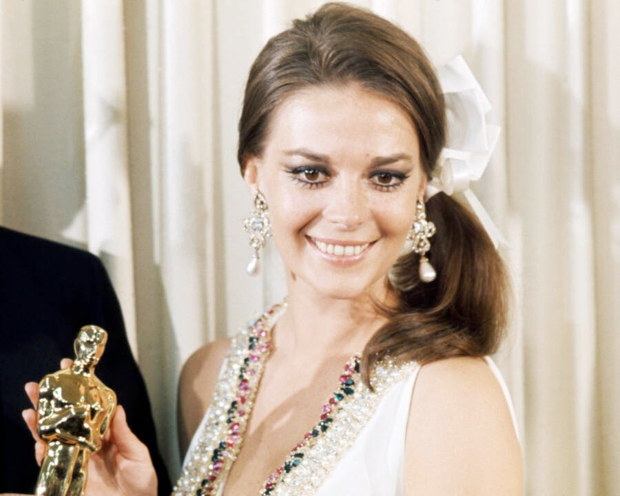 Natalie Wood At The Oscars