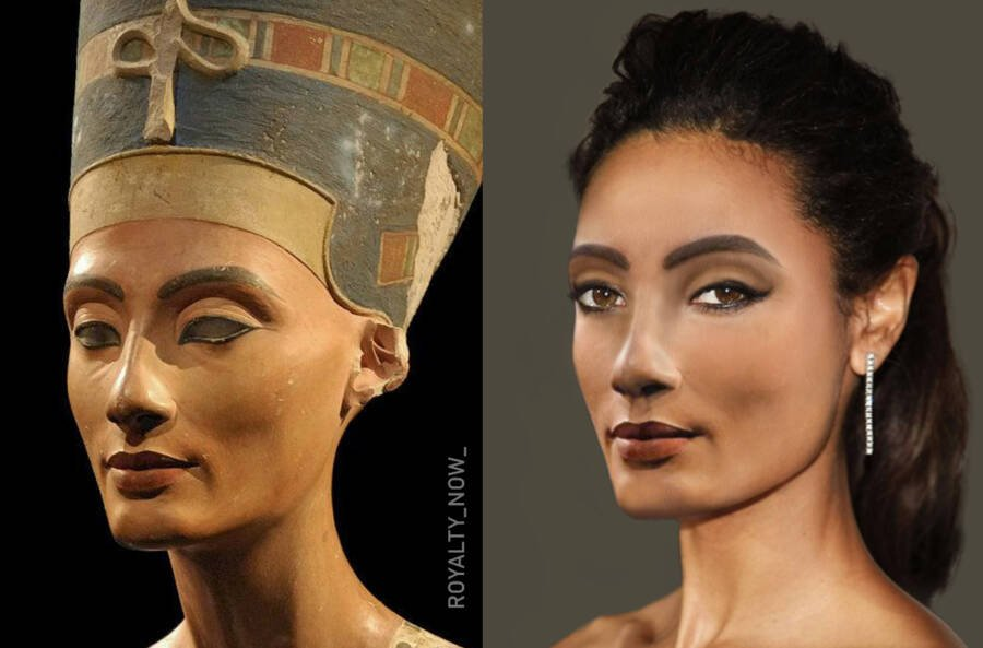 What Nefertiti Would Look Like Today