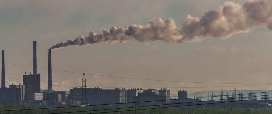 Norilsk Skyline Factories