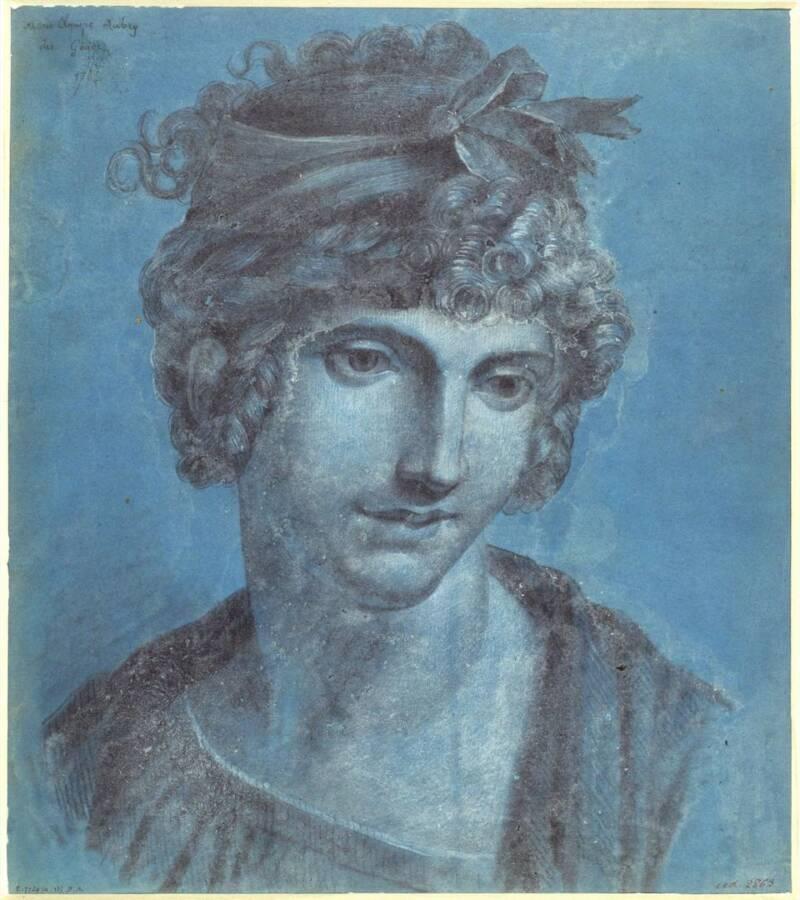 Olympe De Gouges Portrait 1784