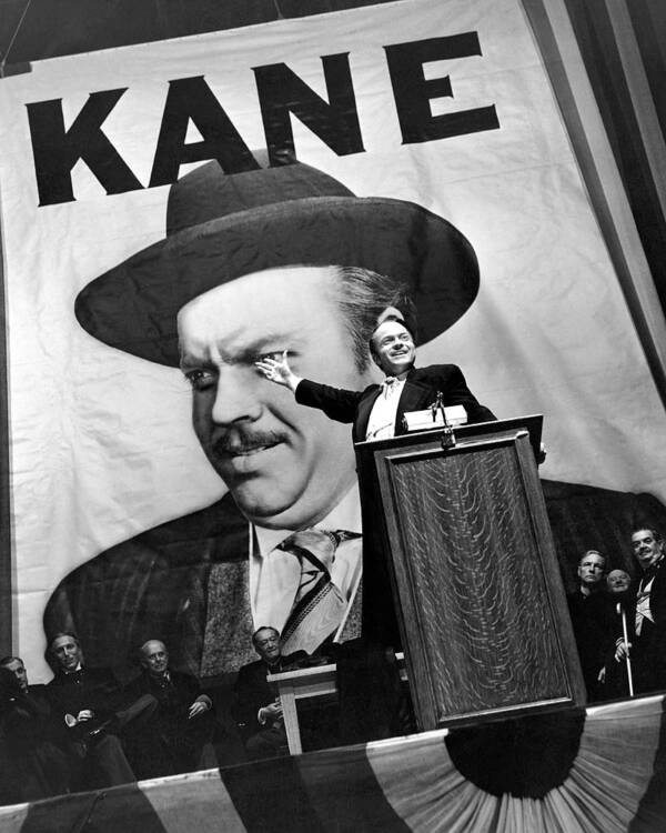 Orson Welles In Citizen Kane Written By Herman J Mankiewicz