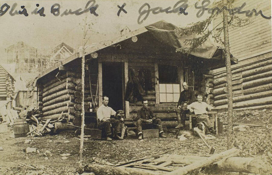 Photo Of Bond Brothers At Their Cabin