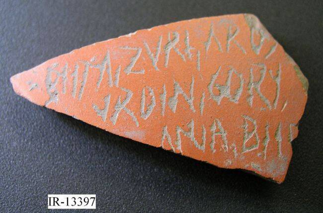 Pottery Fragment With Modern Commas