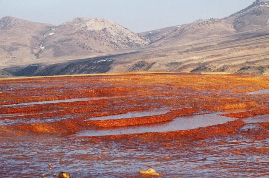 Red Ground Of Badab E Surt
