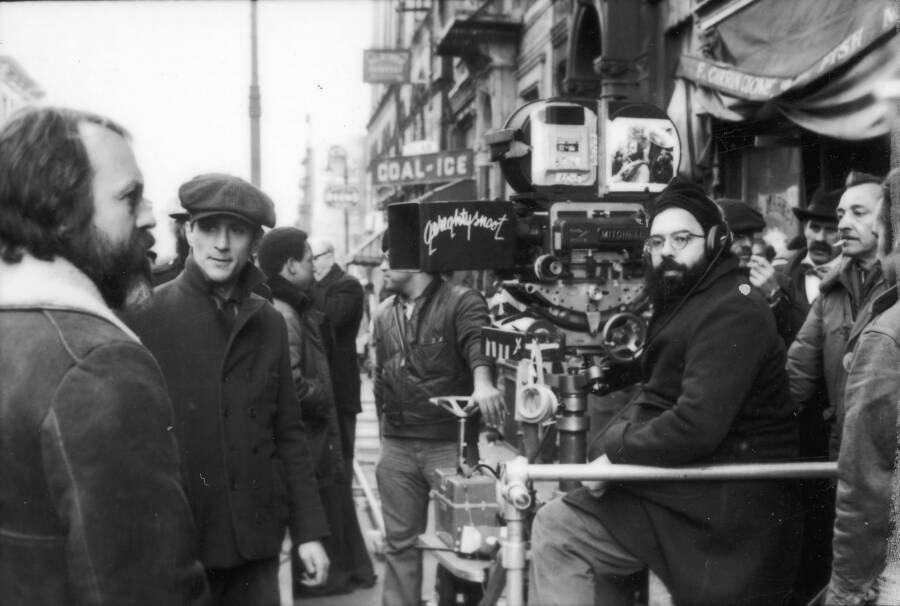 Robert Deniro And Francis Coppola On Godfather Two