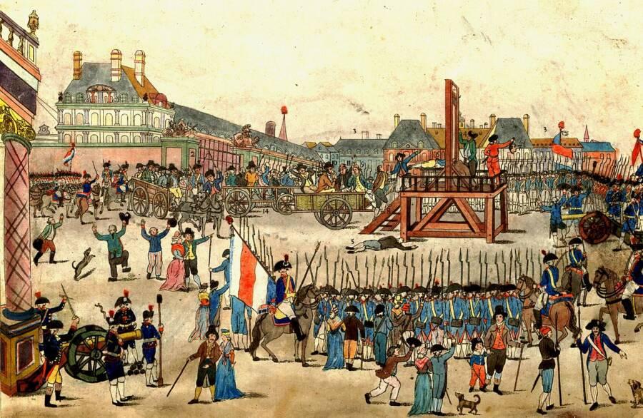Robespierre Execution