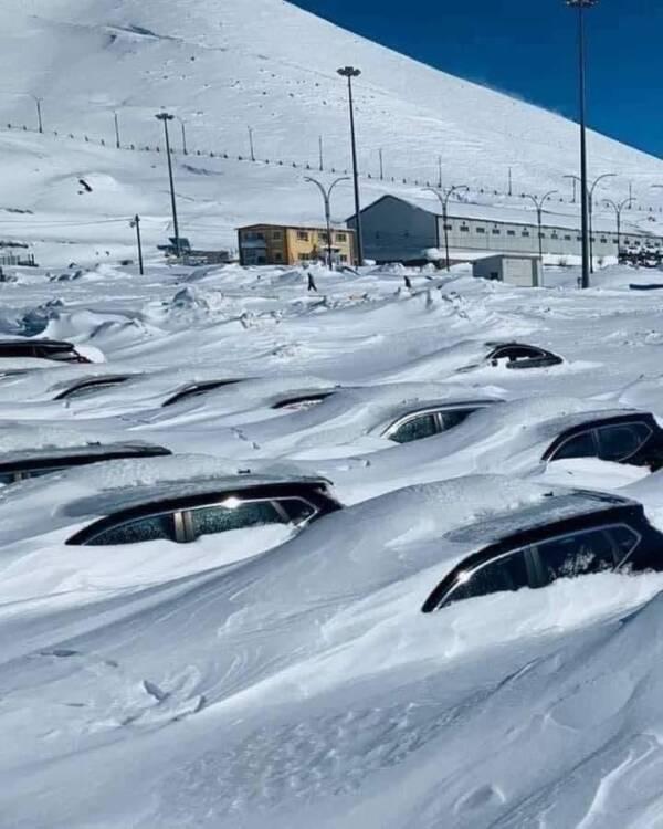 Snow In Kurdistan