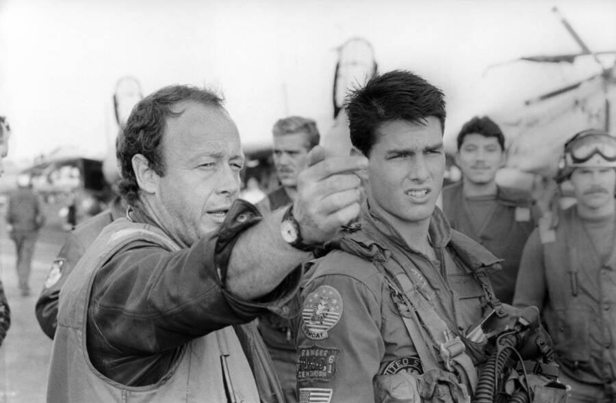 Tony Scott And Tom Cruise