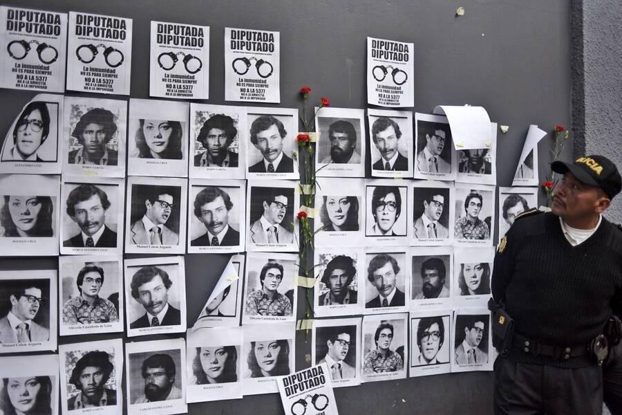 Victims Of The Guatemalan Civil War