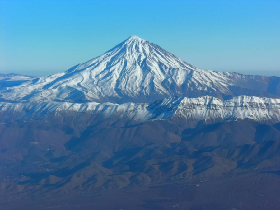 View Of Mount Damavand