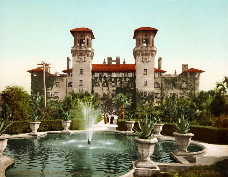Alcazar Hotel In Florida