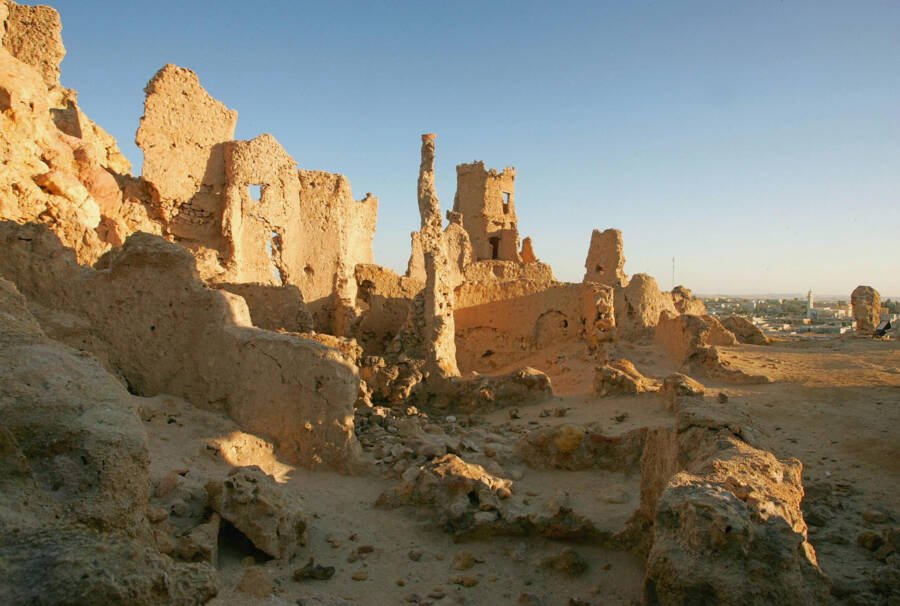 Ancient Ruins In The Siwa Oasis