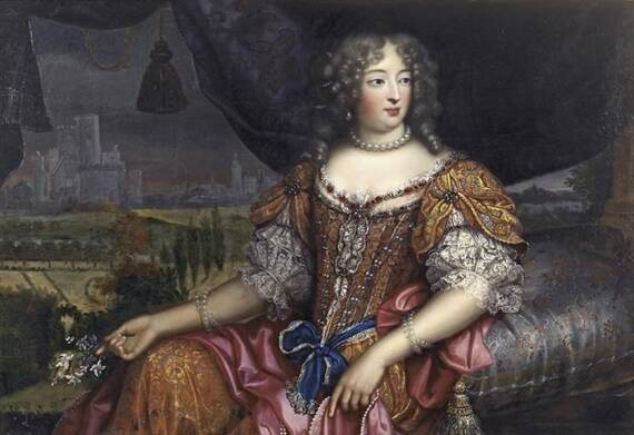 Portrait Of Woman Believed To Be Marquise De Montespan