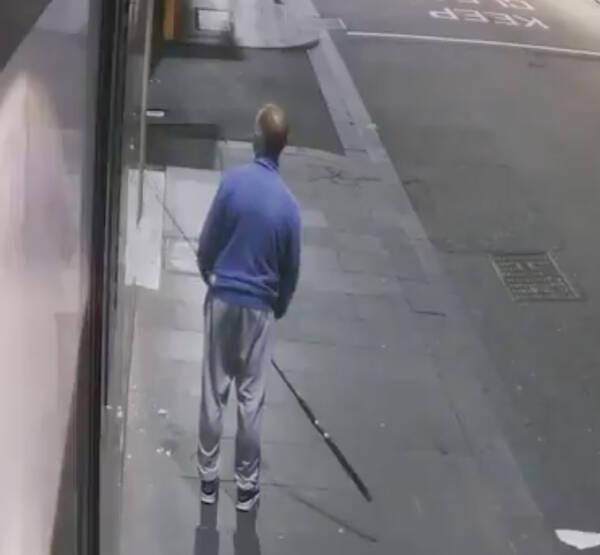 Australian Man Fishing Jewelry Out