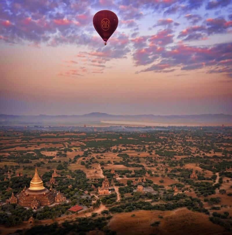 Bagan Myanmar Skies