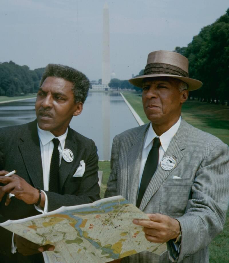 Bayard Rustin And Phillip Randolph