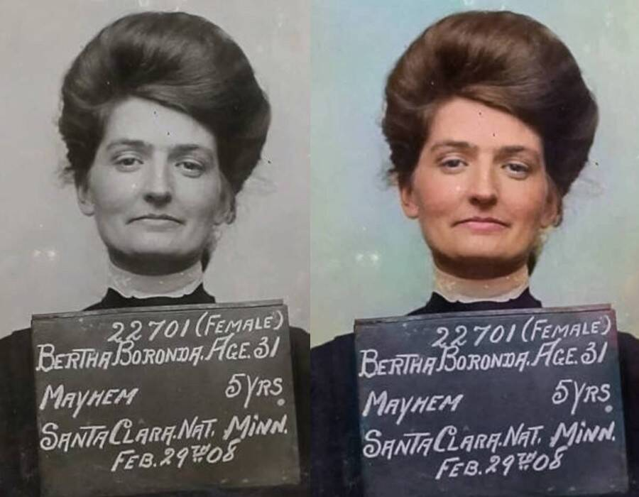 Mugshot Of Bertha Boronda