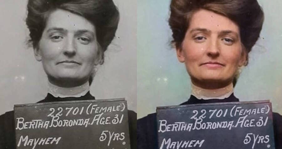 These Colorized Mugshots Show Criminals From The Past As They Really Were