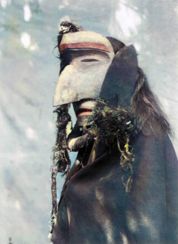 Big Native American Mask