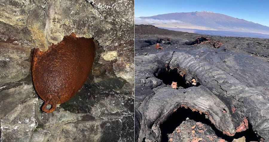Hiker Finds Unexploded Ww2