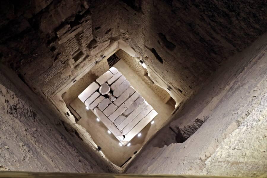 Burial Shaft At Step Pyramid