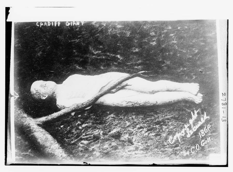 Cardiff Giant Hoax Of 1869