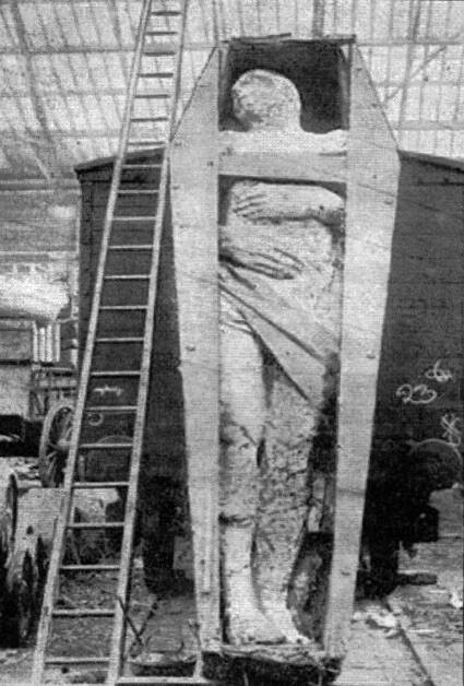 Cardiff Giant In The 1890s