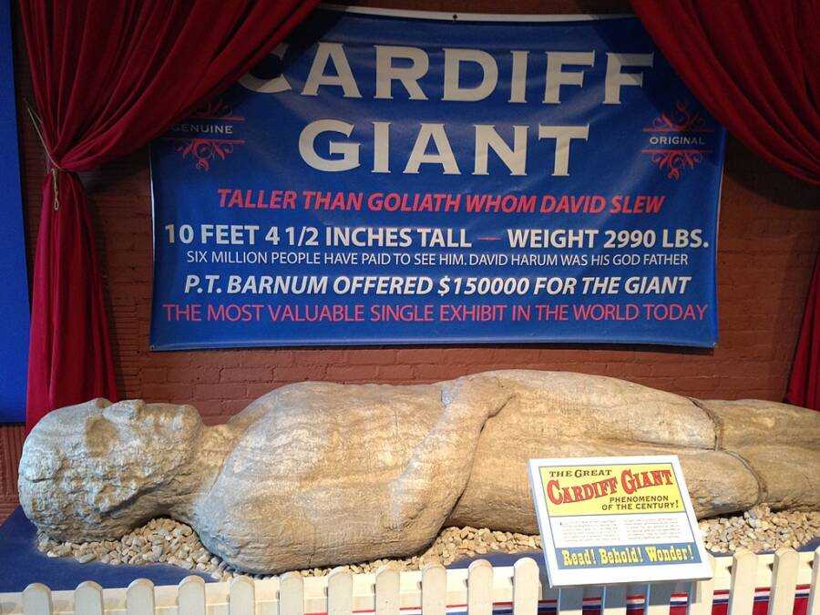 The Cardiff Giant Today