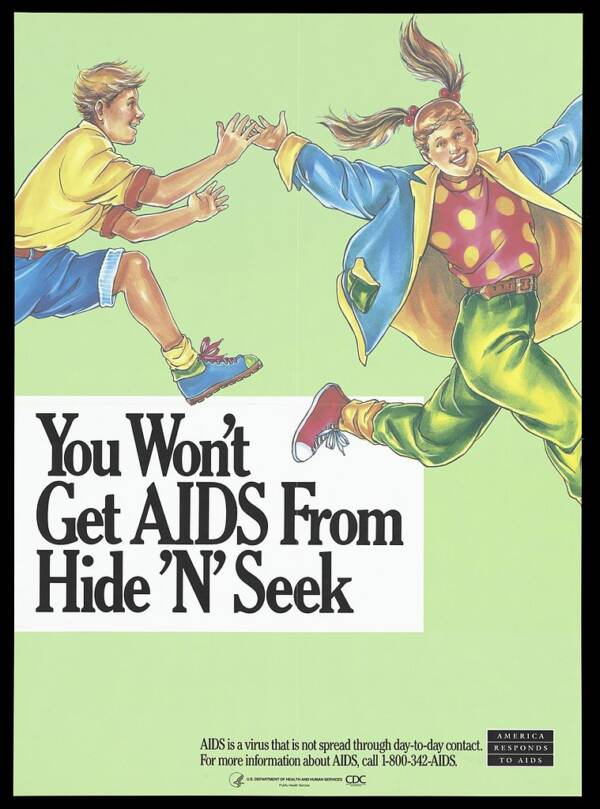 CDC AIDS Poster