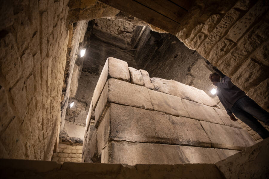 Custodian At Pyramid Of Djoser