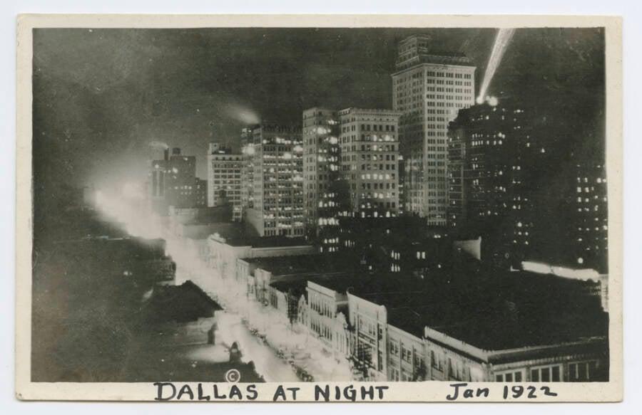 Dallas In 1922