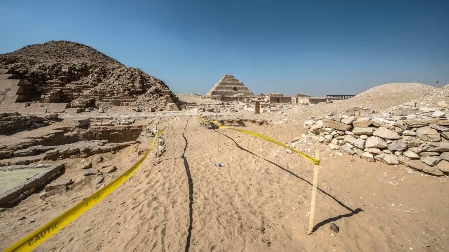 Djoser Pyramid Restoration