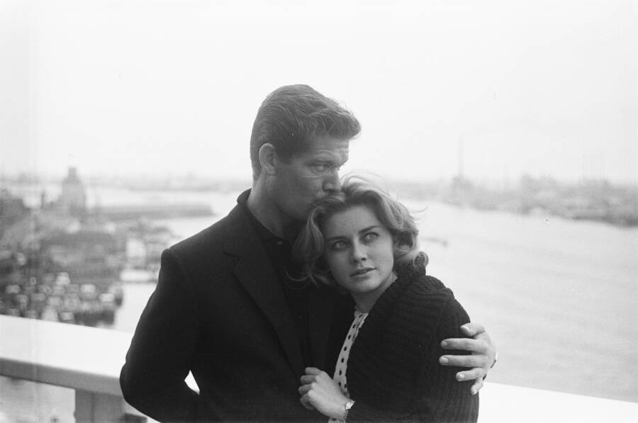 Dolores Hart And Stephen Boyd