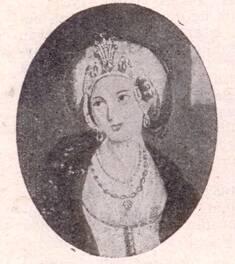 Drawing Of Sultana Nakşidil