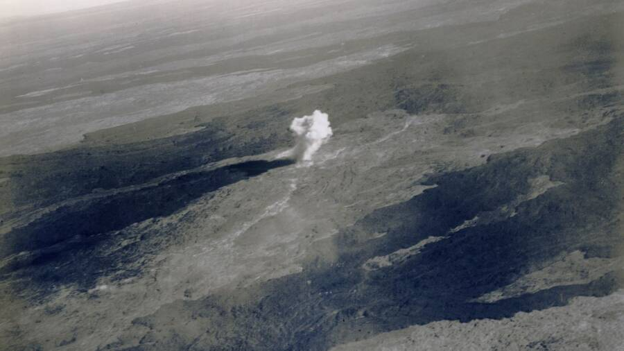 Explosion On Mauna Loa In 1935