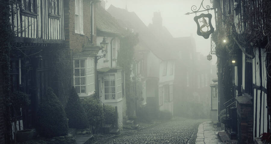 Photos That Reveal The Haunting Secrets Of England's Medieval Mermaid Inn
