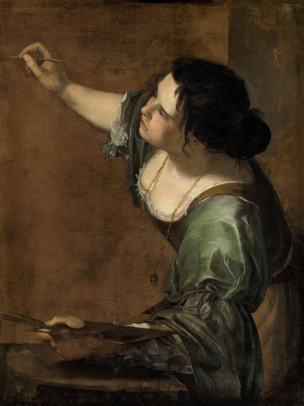 Gentileschi Self Portrait