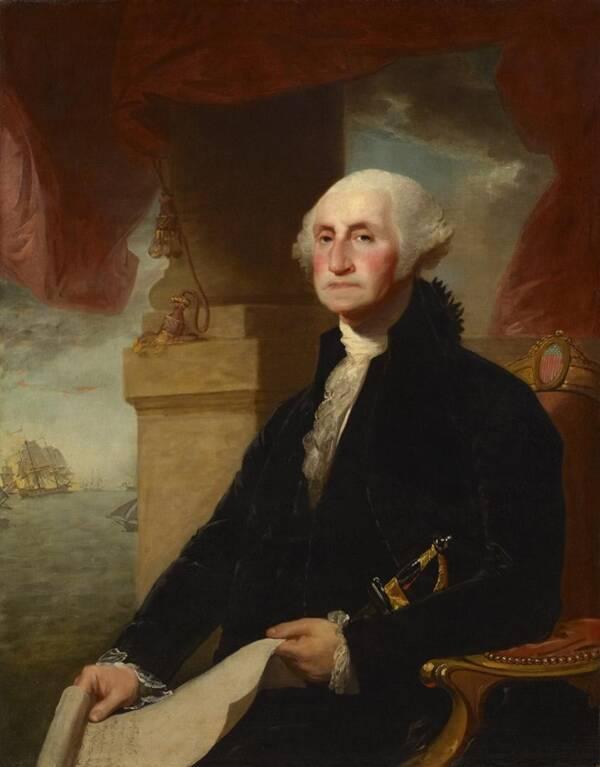 George Washington In 1797